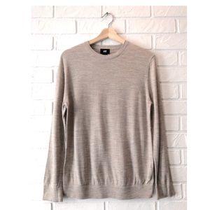 Wool blend lightweight sweater H&M